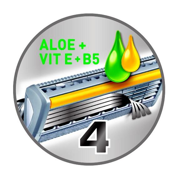 Aloe + Vit E + B5 bubble